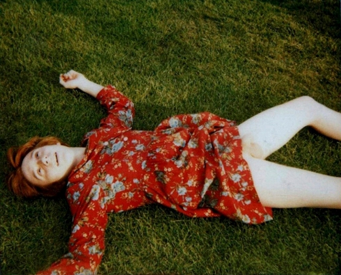 Billy In My Childhood Red Flower Dress 2011