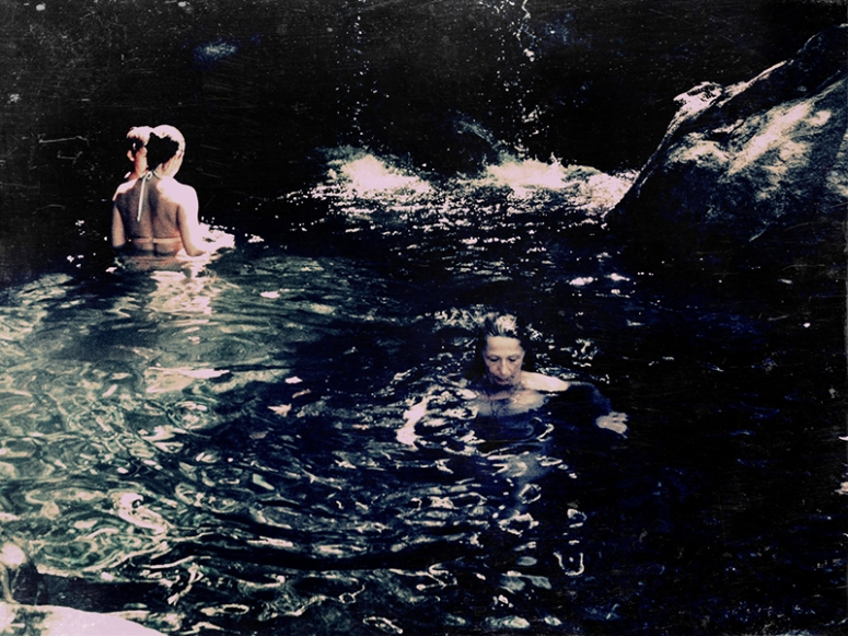 Blue- Mother Swimming