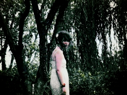 Inside A White Dress Self Portait 2012