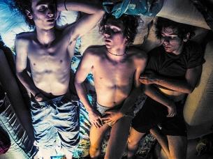 The Boys Sleeping After Their Gig On A Festival 2014