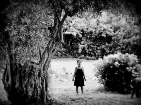 Unknown Girl Lost In Forest 2012