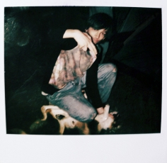 Lucas Holding Dog 2011