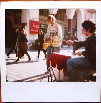 The Boys Playing Music On The Street ||| 2011